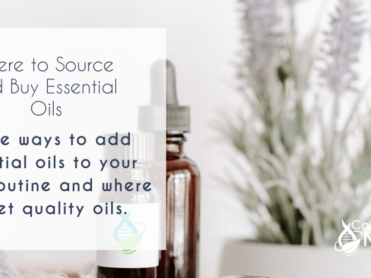 where to source your essential oils