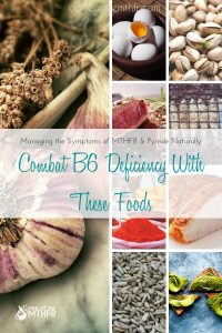 Vitamin B6 deficiency and the foods you should eat.