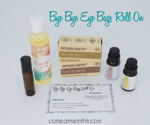 Everything you need to make the bye bye eye bags roll on from Simply Earth