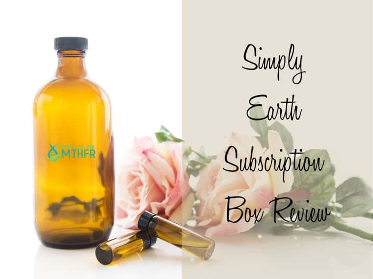 A review of the Simply Earth Essential Oils monthly subscription box