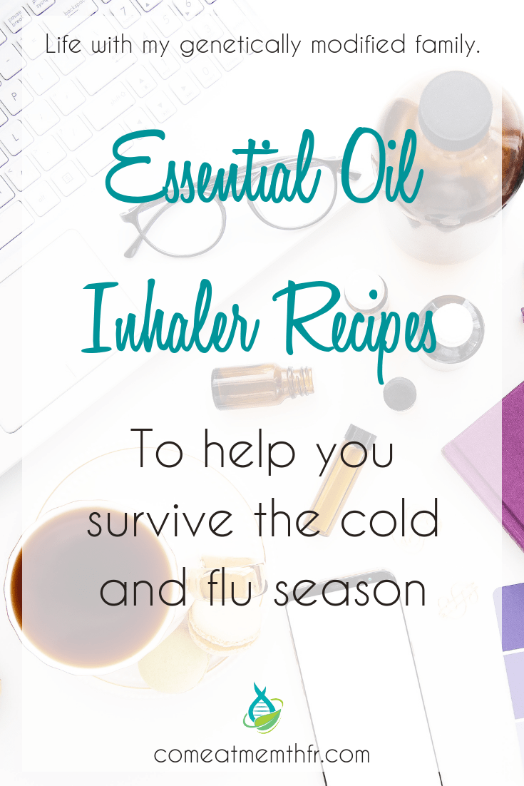 essential oil nasal inhaler recipes for cold and flu season