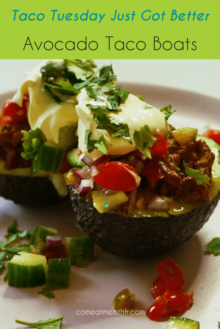 avocado taco boats recipe