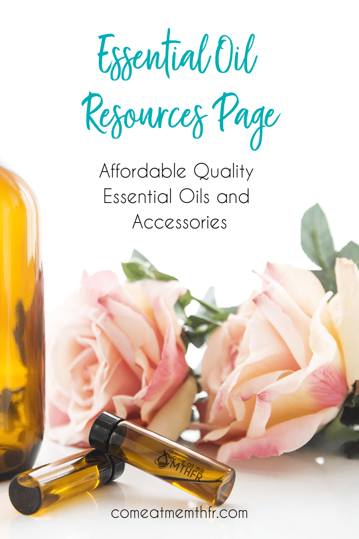 Essential Oils - Resource page for oils and accessories
