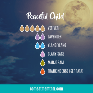 Peaceful Child diffuser blend