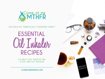 Essential Oil Inhaler Recipes for the cold and flu season