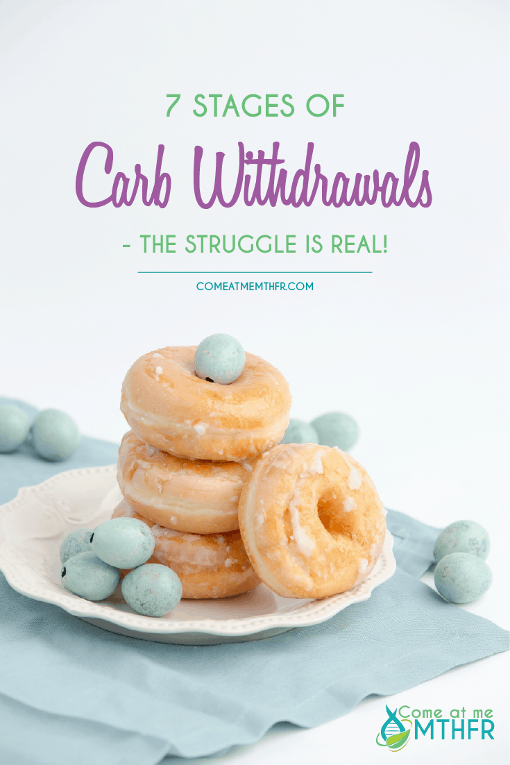 Carb and sugar withdrawals when starting on keto or low carb