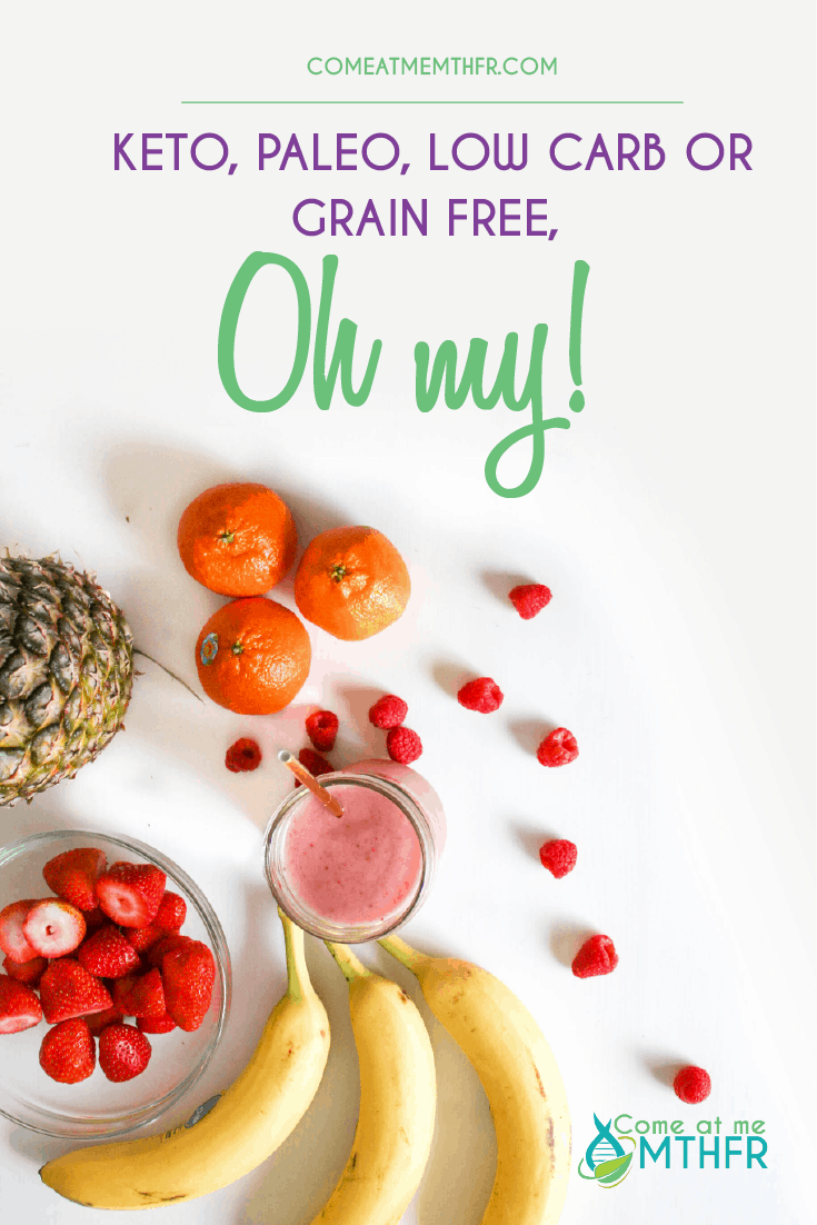 keto, paleo, low carb or grain free