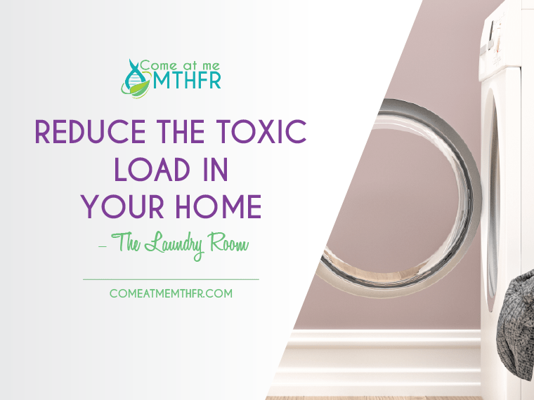 reduce the toxic load in your laundry
