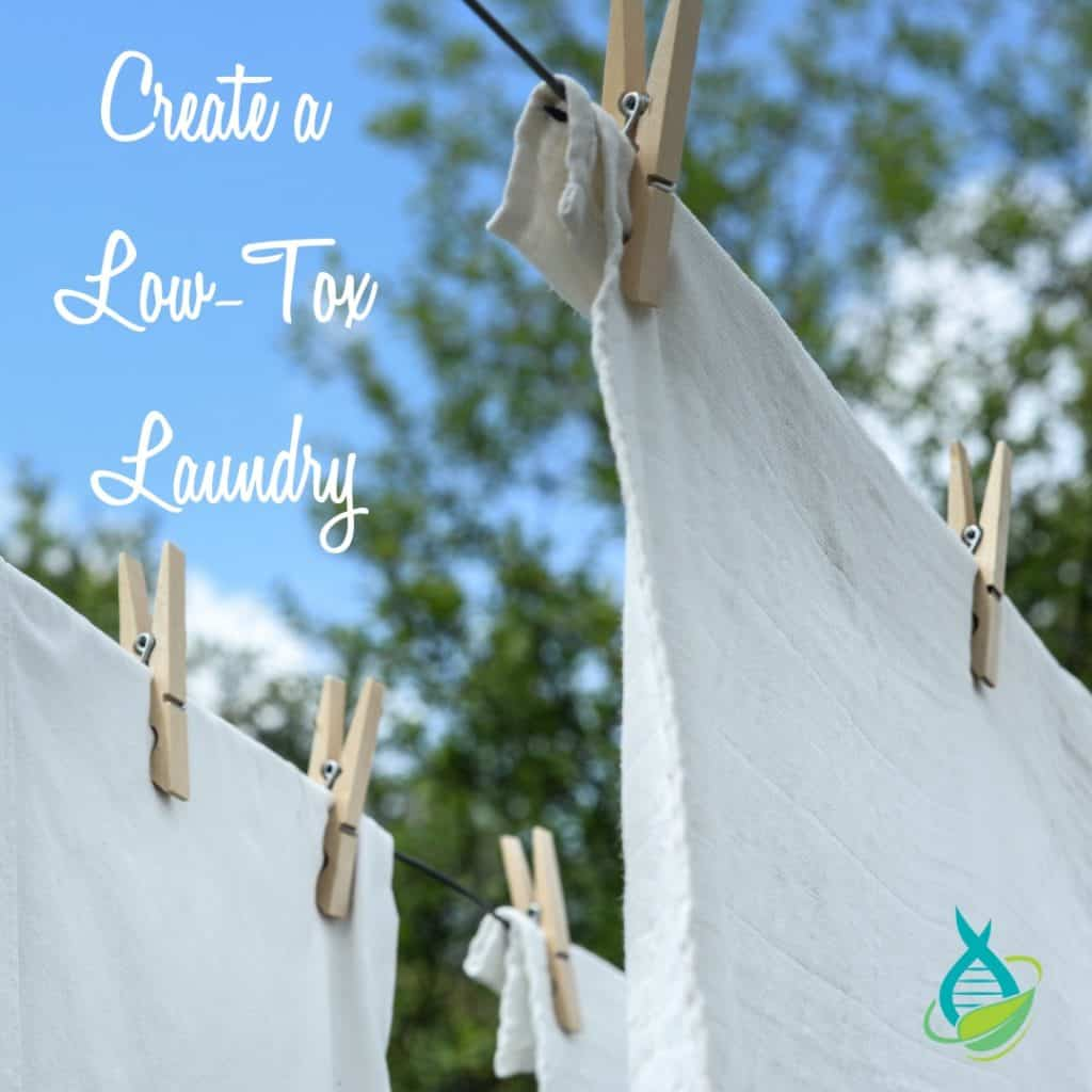 Reduce the Toxic Load in Your Home - Laundry Room 2
