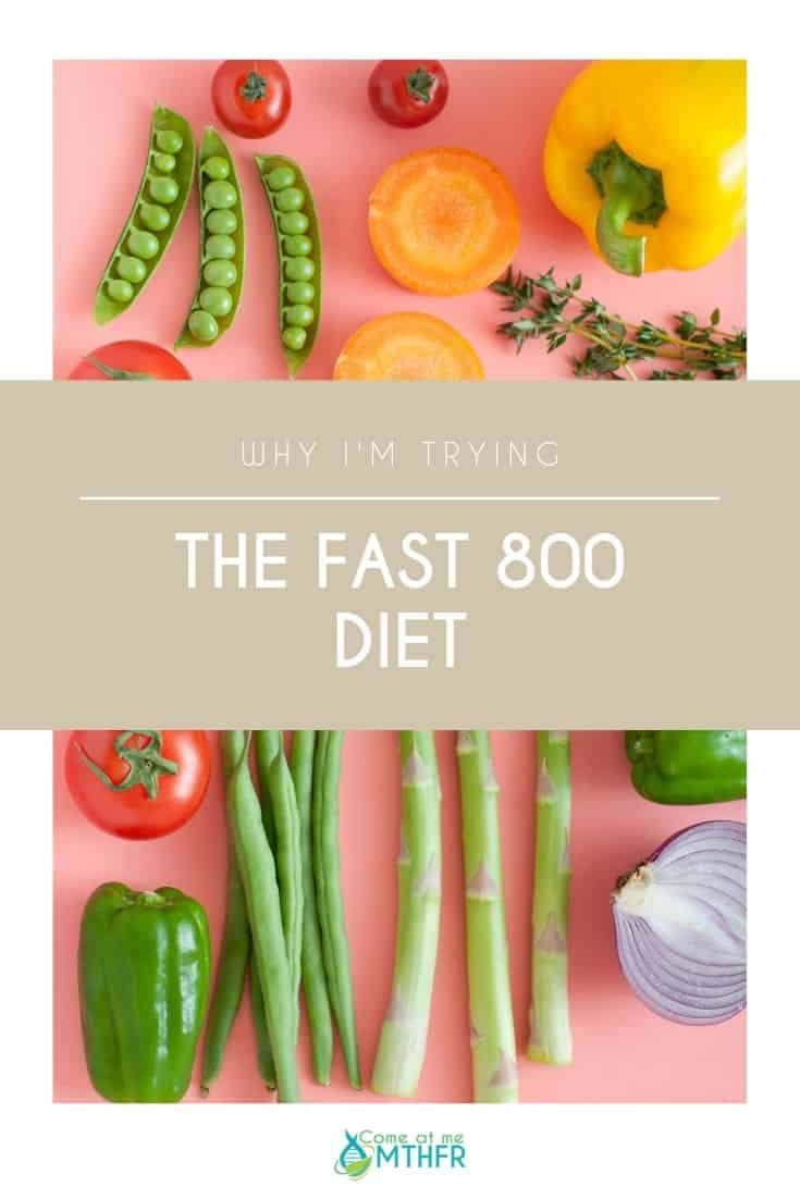 Why I'm Trying the Fast 800 Diet