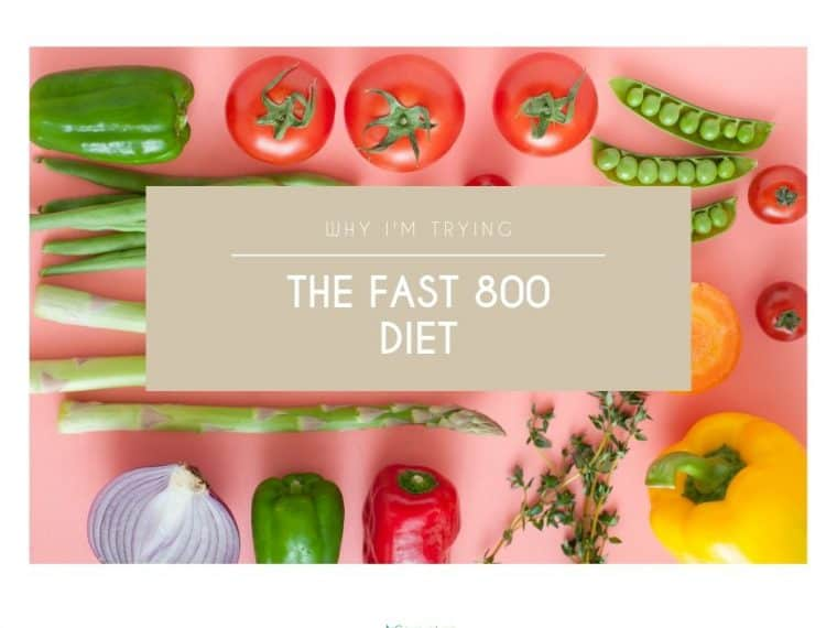 Why I'm Trying the Fast 800 Diet 2