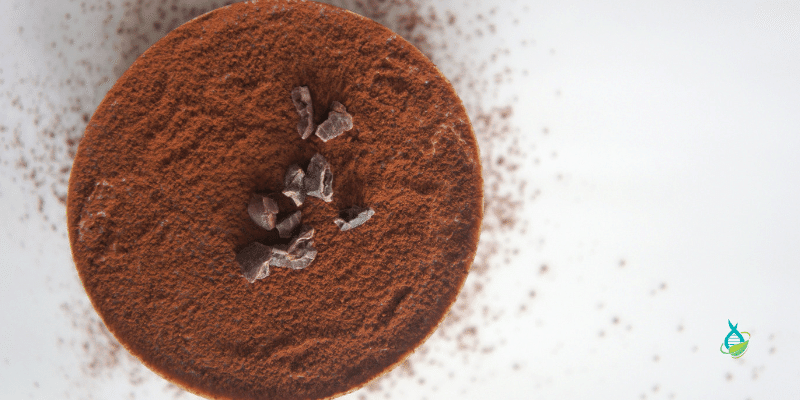 cacao or cocoa powder for choc berry chia pudding