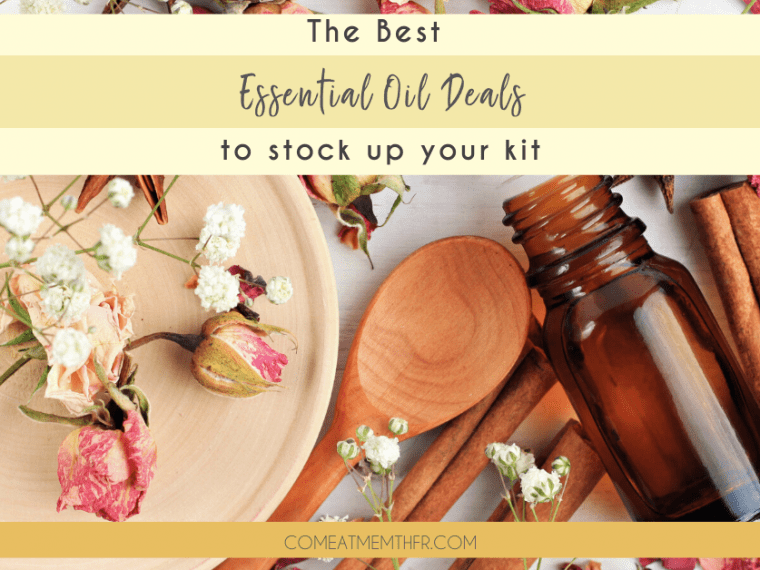 best essential oil deals